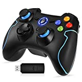 EasySMX PC Gamepad, Wireless Controller, gaming Controller fr PS3/PC(Windows XP/7/8/8.1/10)/Android TV-Box, Vista